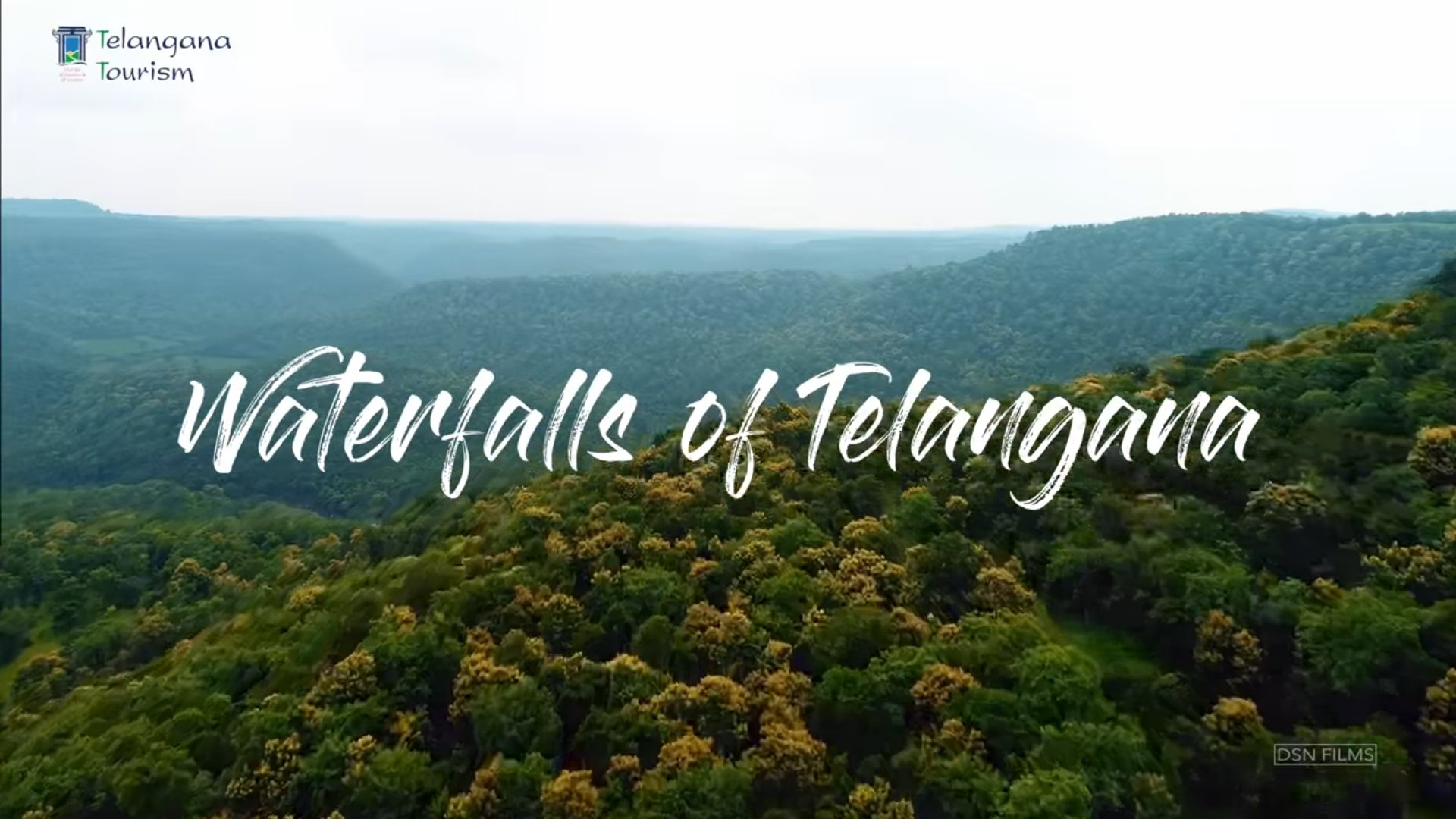 Waterfalls in Telangana