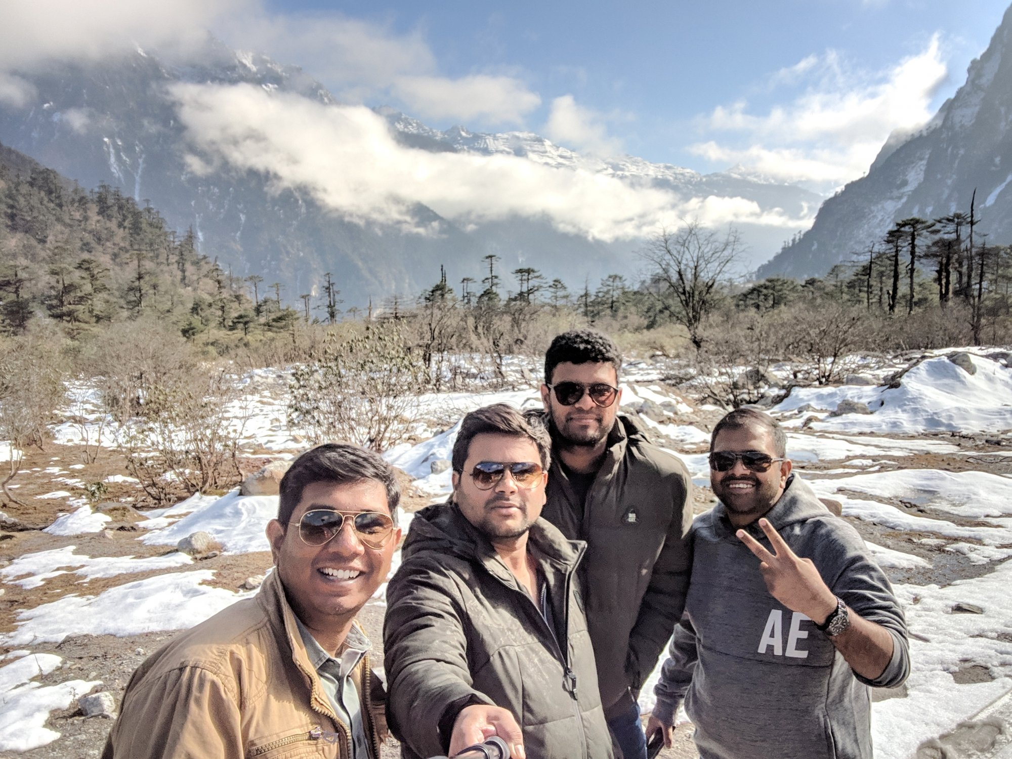 Hyderabad to Sikkim road trip