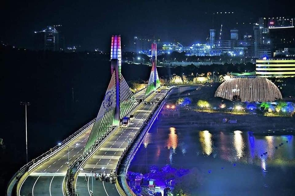 Hyderabad hanging bridge is open